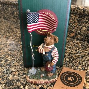 Boyd's Bears I Pledge of Allegiance Figurine BOX